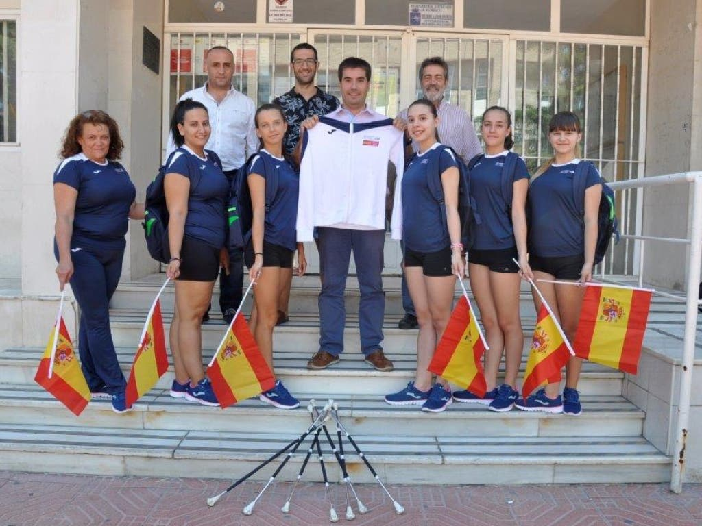 Las majorettes de Mejorada, rumbo a los Mundiales de Croacia