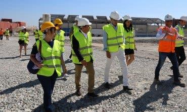 Avanzan las obras del futuro gran Centro Comercial de Coslada