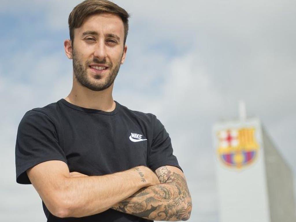 El torrejonero Mario Rivillos ficha por el Barça