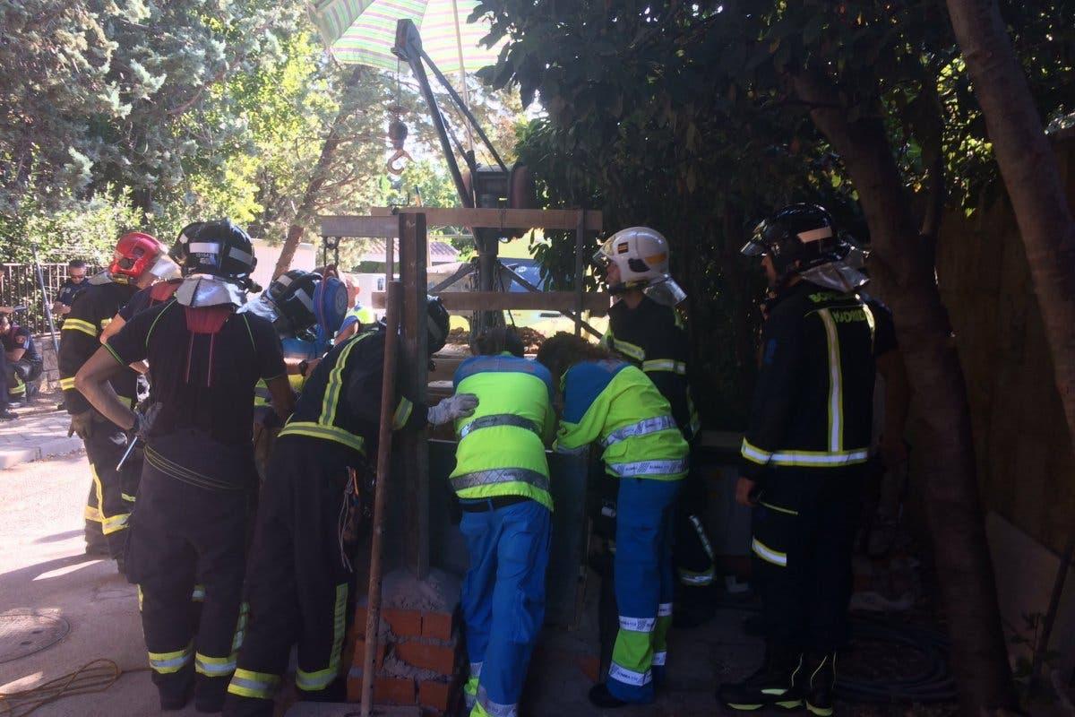 El lunes deja dos graves accidentes laborales en Madrid