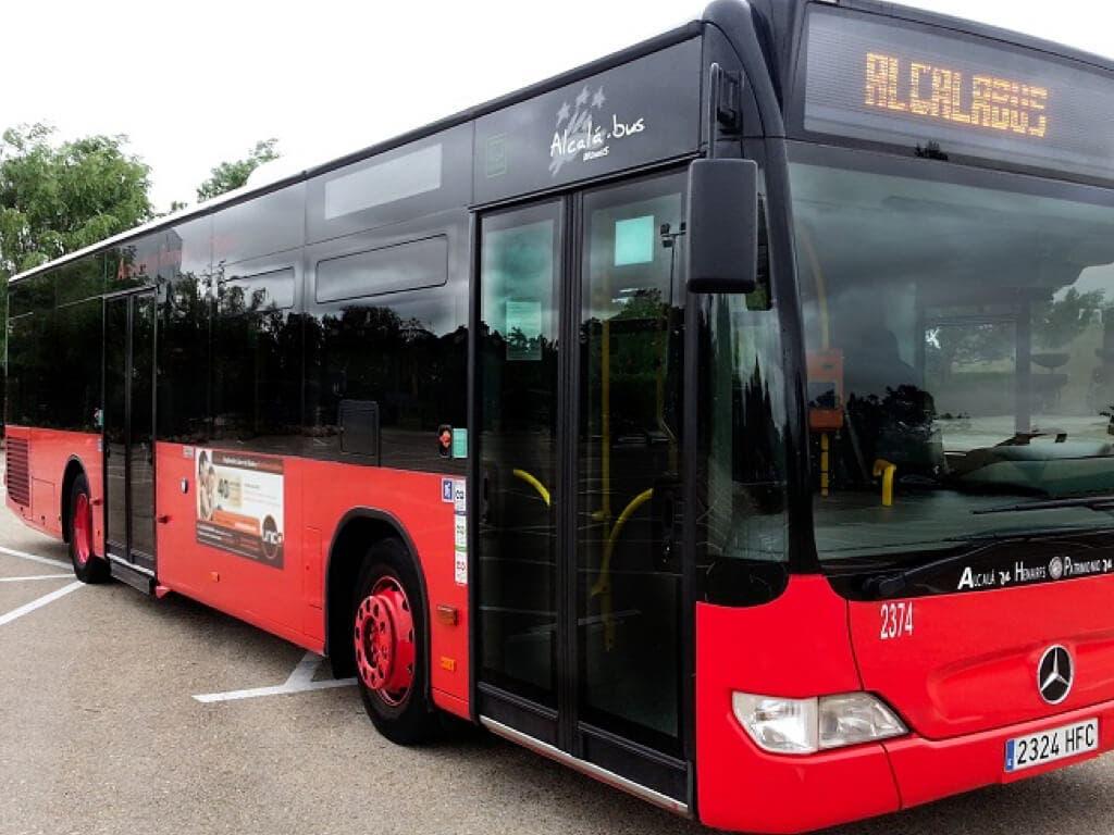 Tres líneas de autobuses urbanos de Alcalá de Henares amplían su recorrido