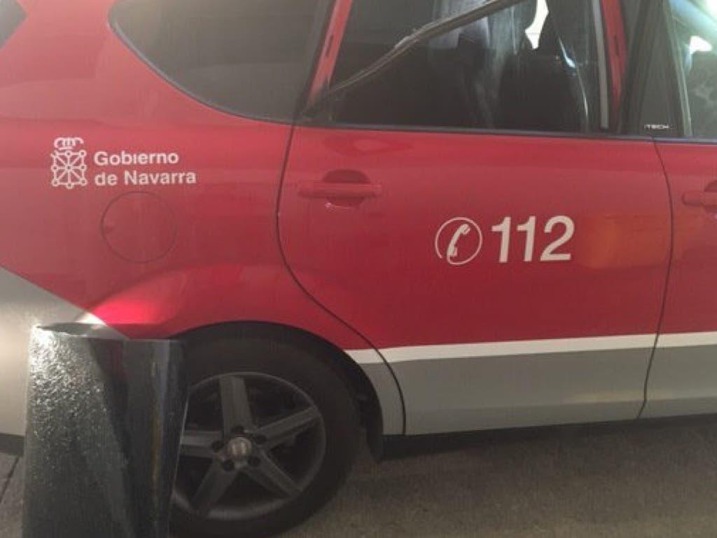 Un vecino de Cabanillas la lía contra la Policía en Navarra
