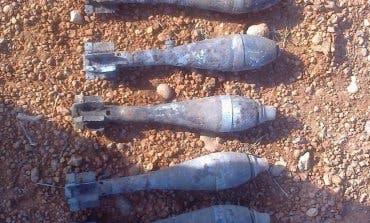 Desactivan nueve granadas de mortero en Guadalajara