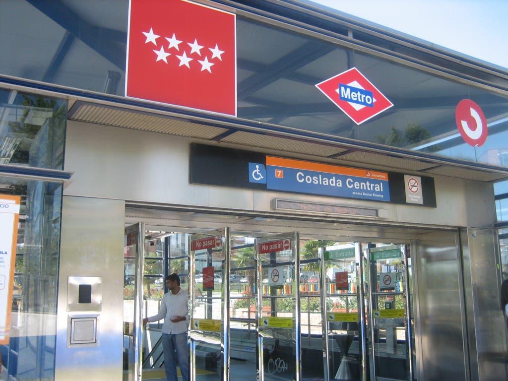 Las obras del Metro de Coslada comenzarán en diciembre