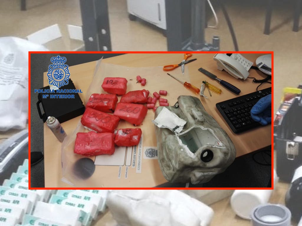 Cae un grupo de narcos con 9 kilos de coca y pisos en Madrid