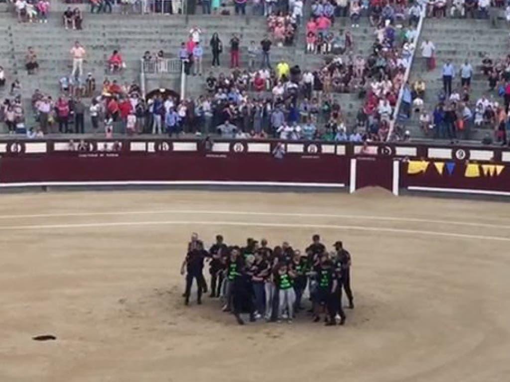 Detenidos 29 antitaurinos por boicotear una corrida en Las Ventas