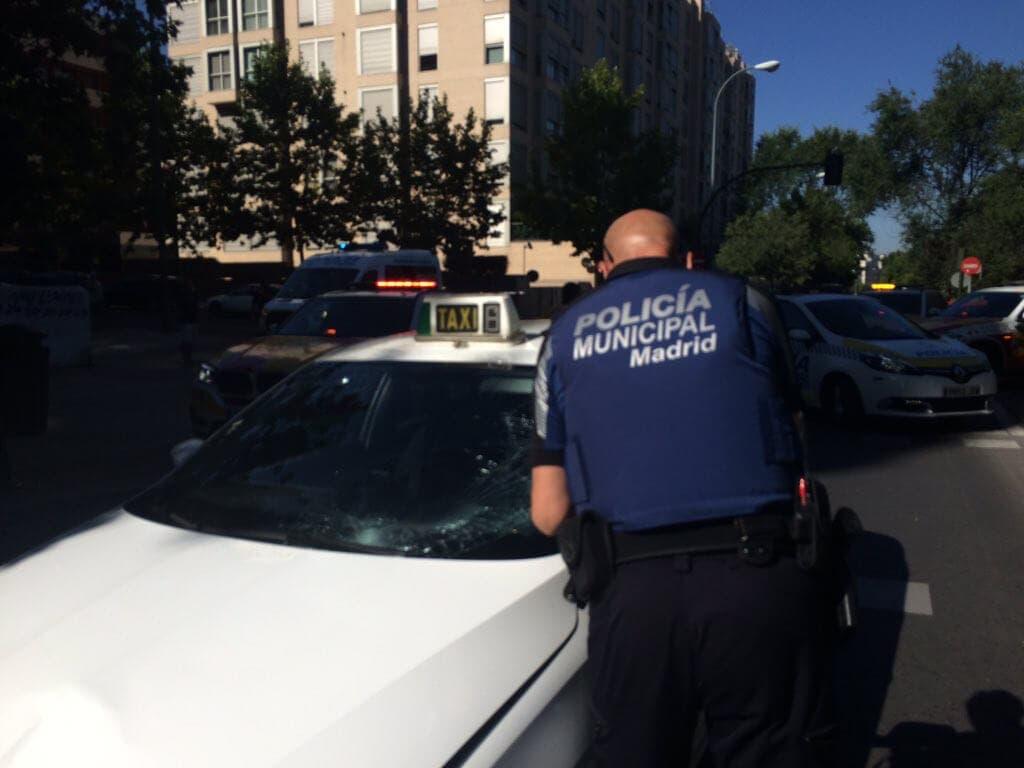 Detenido un taxista en Madrid por vender cocaína  en su vehículo