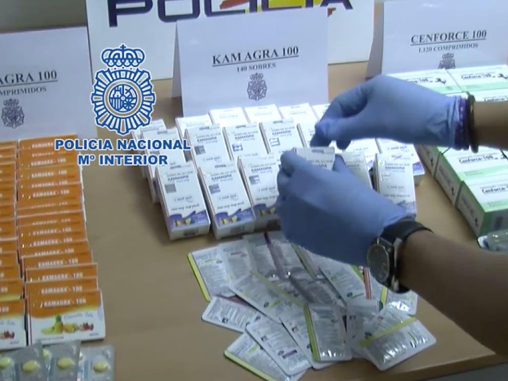 Detenido en Torrejón por vender «Viagra» en Internet