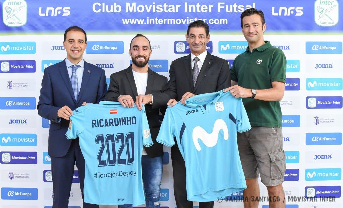 Imágenes del Movistar Inter.