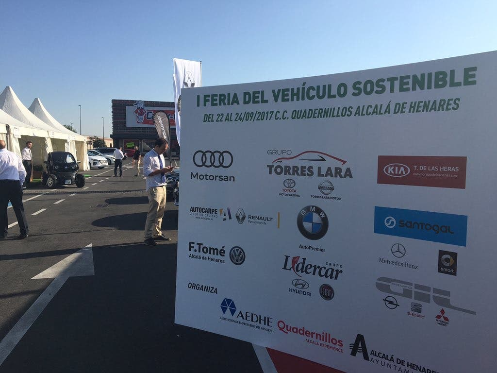 Feria de Vehículos Sostenibles (AEDHE).