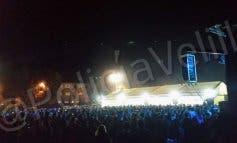La Policía para la fiesta en el Velilla Arena por una reyerta