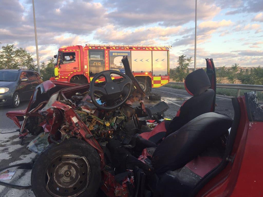 Muere un hombre de 45 años en un accidente en la M-305