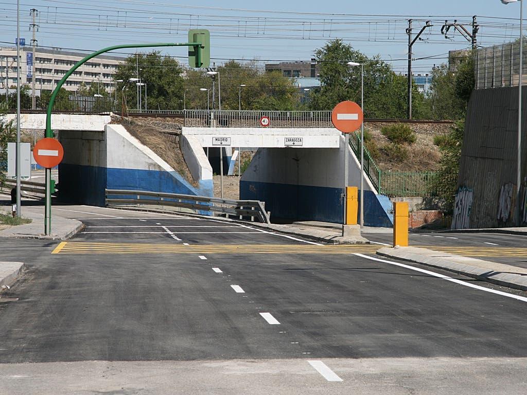 Coslada reabre la Avenida de la Cañada antes de lo previsto
