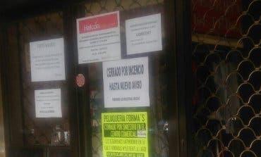 Un incendio obliga a cerrar un centro comercial de Coslada «hasta nuevo aviso»