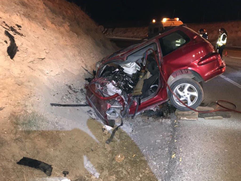 Muere un conductor de 40 años en un accidente de tráfico en Madrid