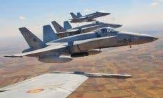 El vuelo de cuatro F-18 sobresaltó anoche a los vecinos de Torrejón