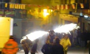 Ajalvir celebra este sábado sus tradicionales Toros de Fuego