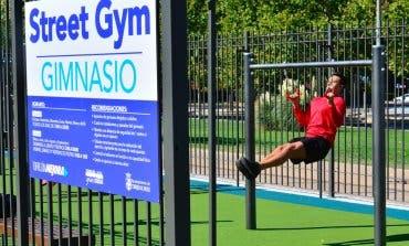 Torrejón estrena un nuevo gimnasio al aire libre