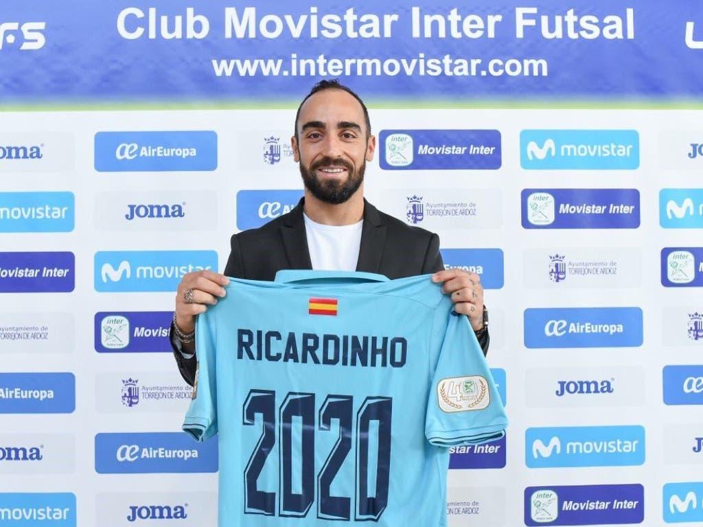 Torrejón seguirá disfrutando de Ricardinho hasta 2020