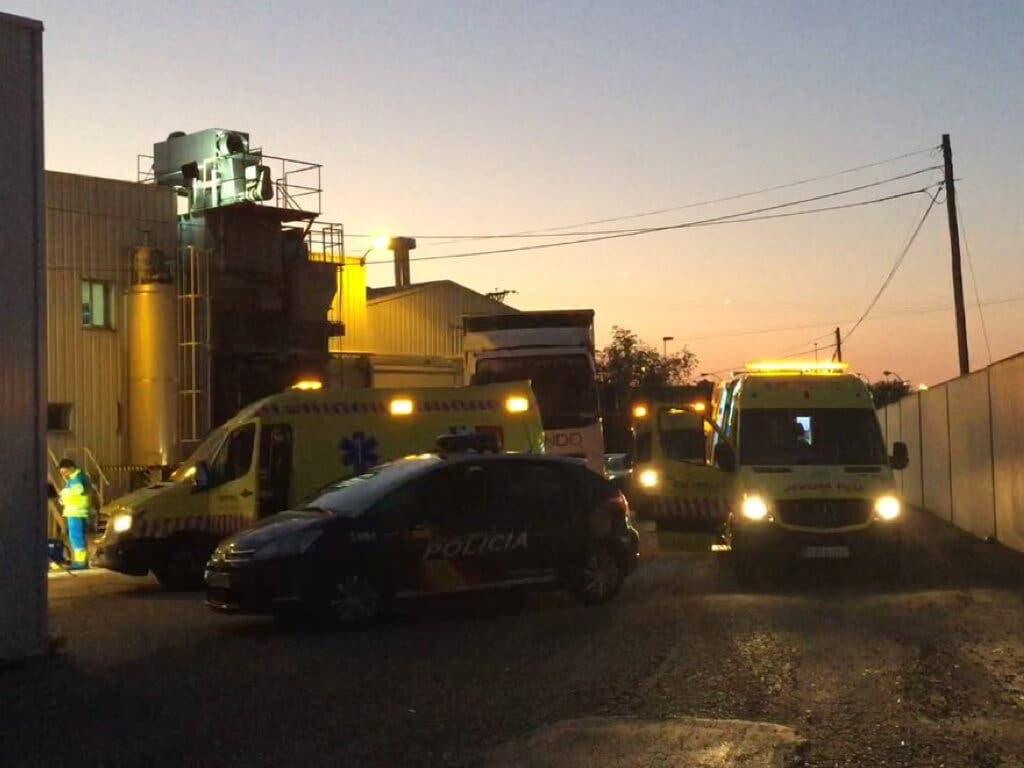 Muere atrapado por una máquina en una empresa cárnica de Leganés