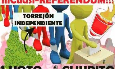 Una Peña pide la independencia de Torrejón en las Patronales