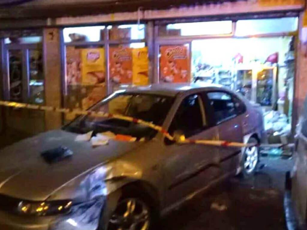 Detenidos por intentar robar en la tienda donde murió atropellado un niño