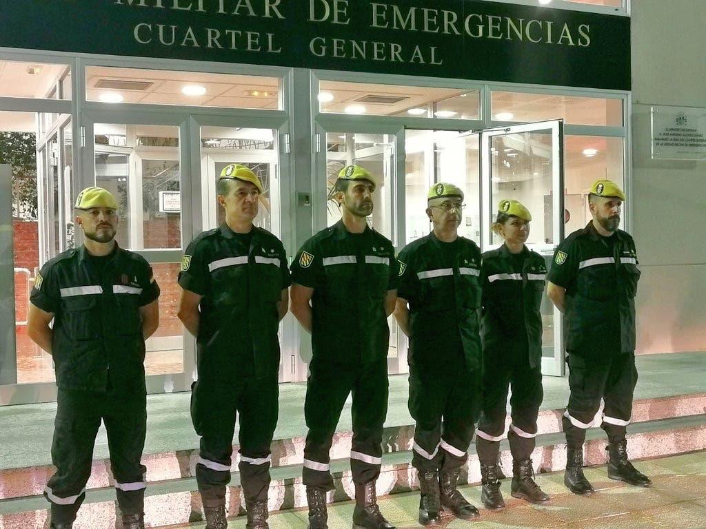 La UME de Torrejón viaja a México para colaborar tras el terremoto