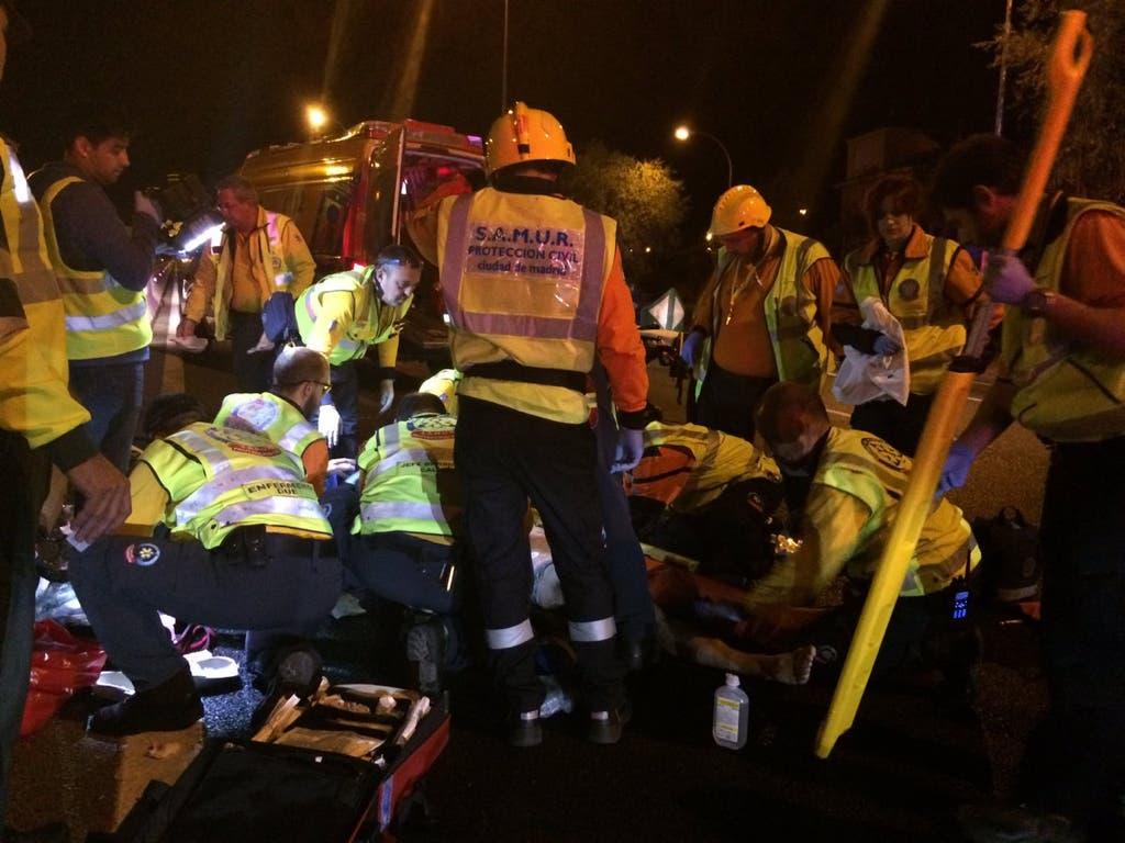 En estado crítico un joven tras ser atropellado en la A-6