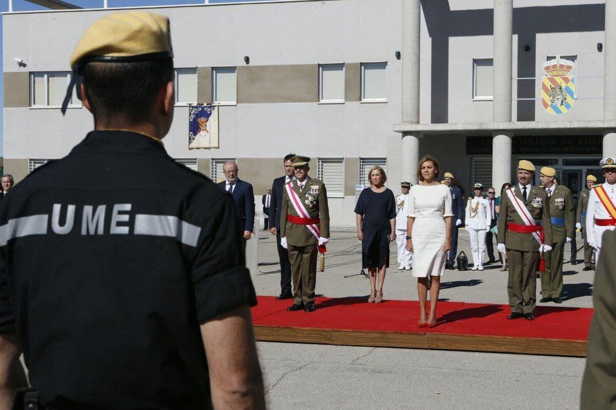 Imágenes del Ministerio de Defensa.