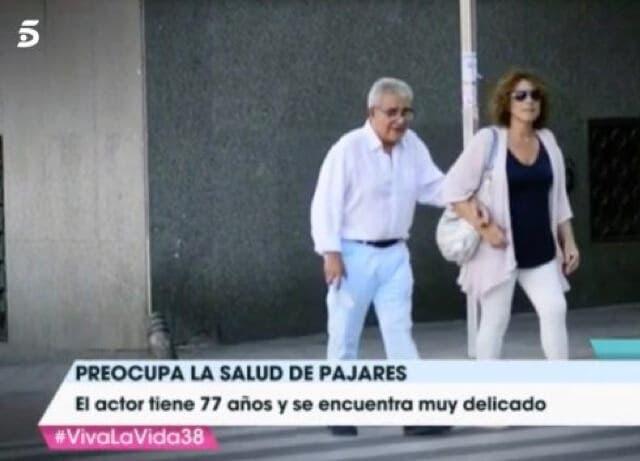 El delicado estado de Andrés Pajares, localizado paseando por Madrid