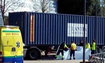 Muere una joven de 18 años atropellada por un camión en Guadalajara