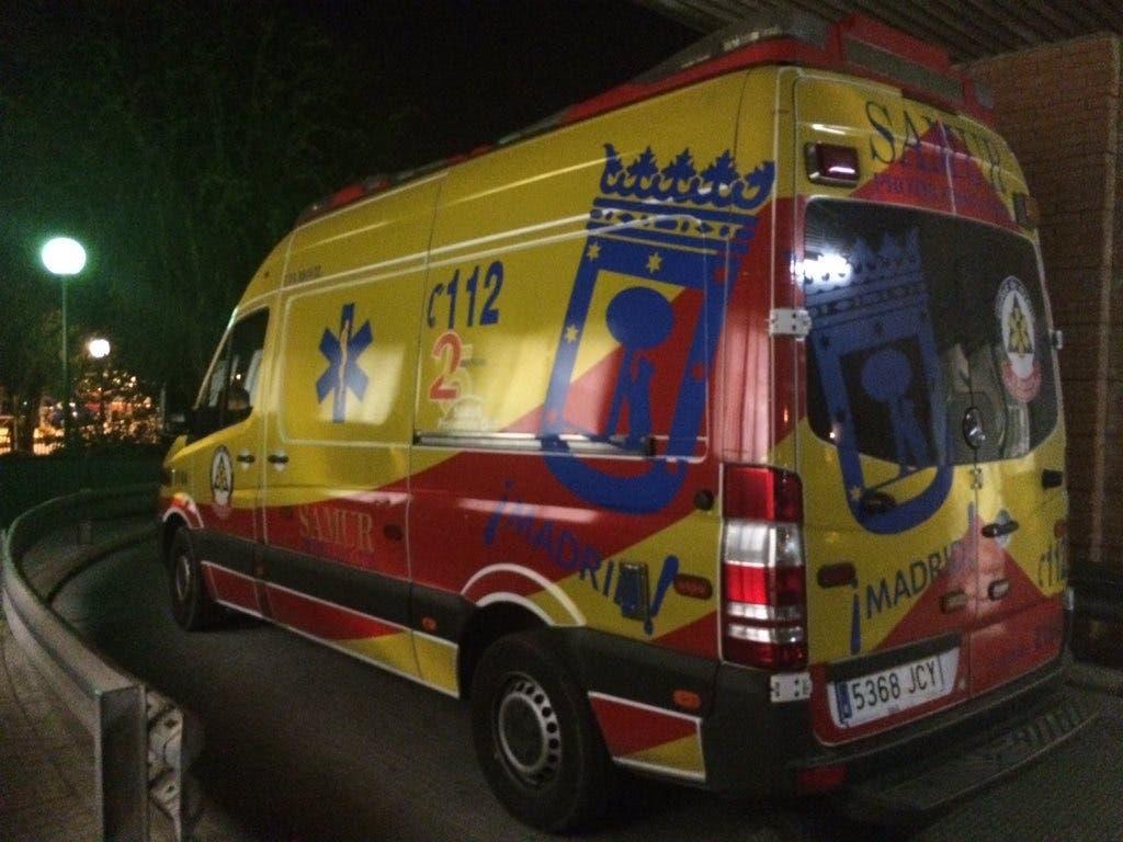Herido grave un hombre de 33 años apuñalado en Madrid