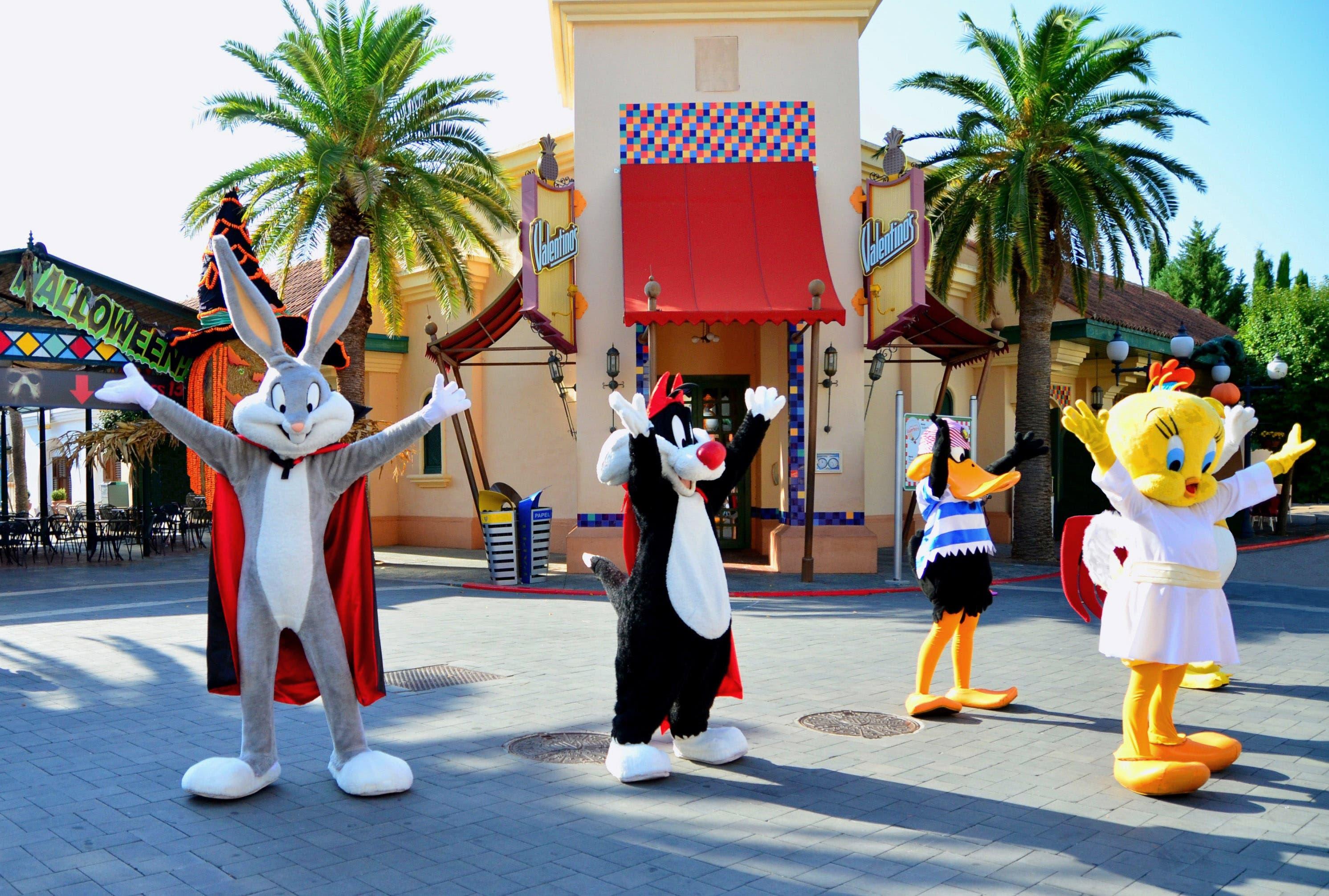 Parque Warner - Halloween - Looney Tunes 2