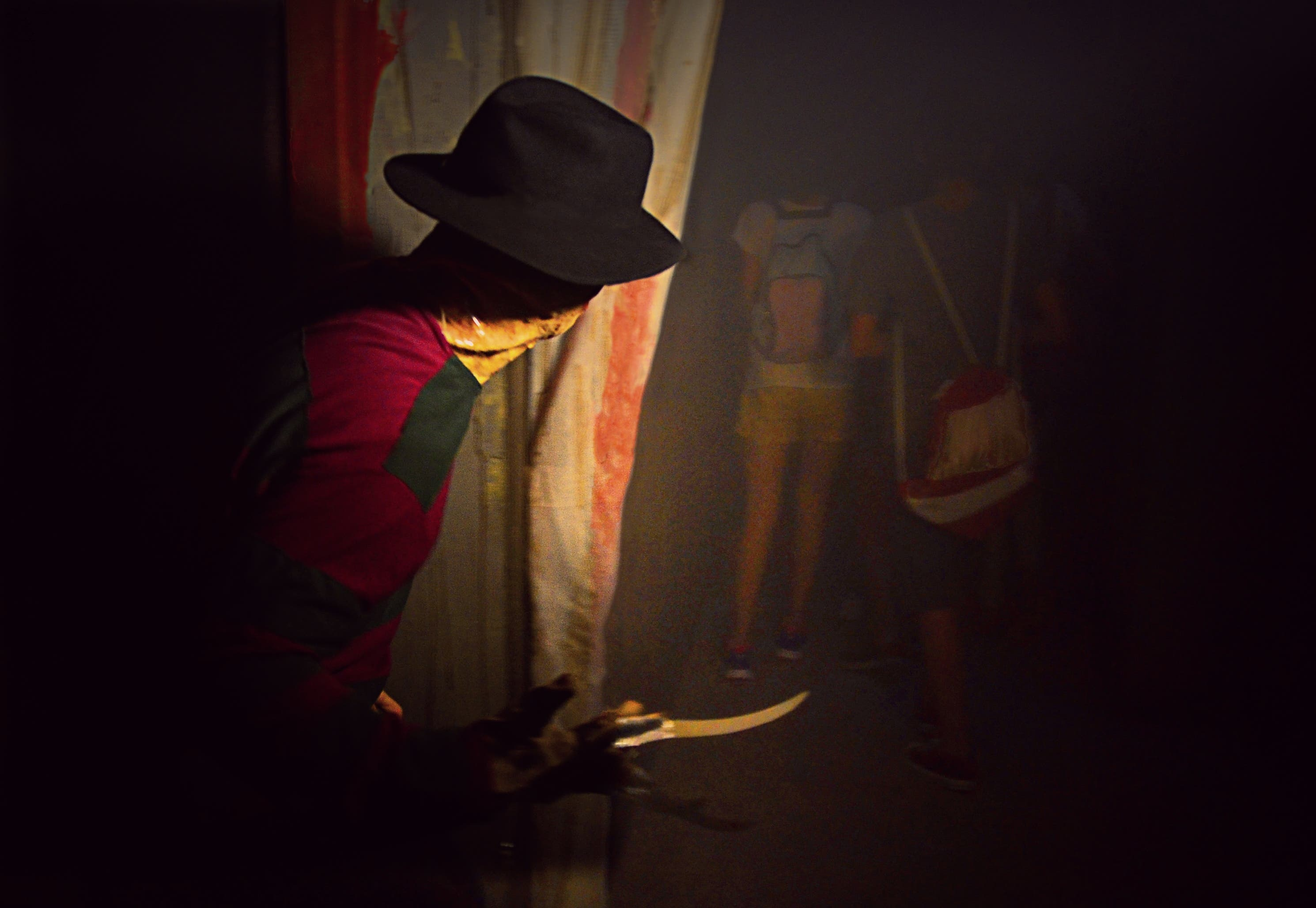 Parque Warner - Halloween - Pasaje Freddy Krueger2
