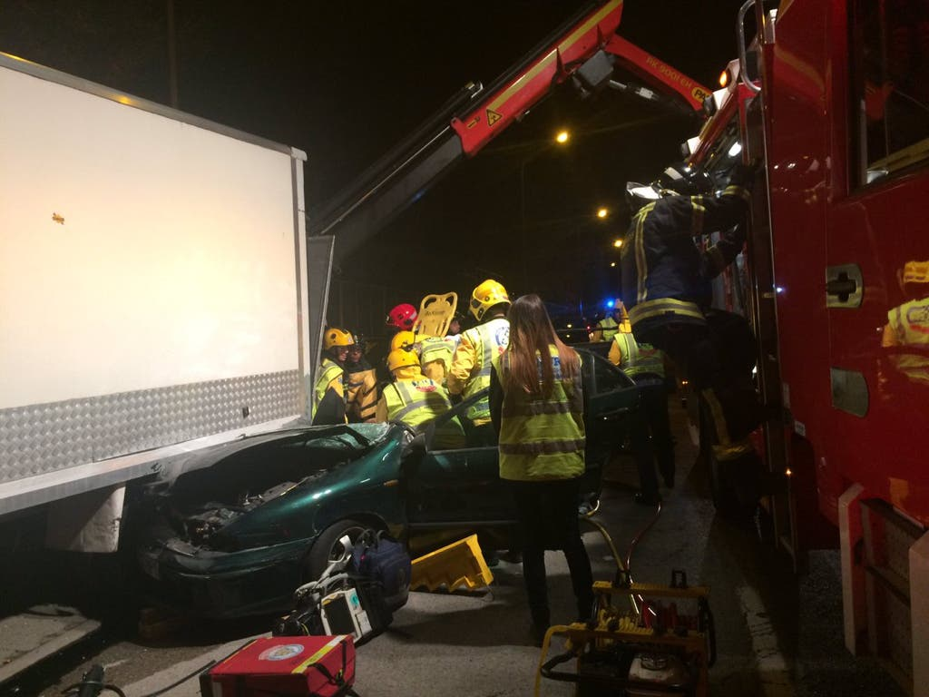 Herido grave un joven de 16 años en un accidente en Vallecas