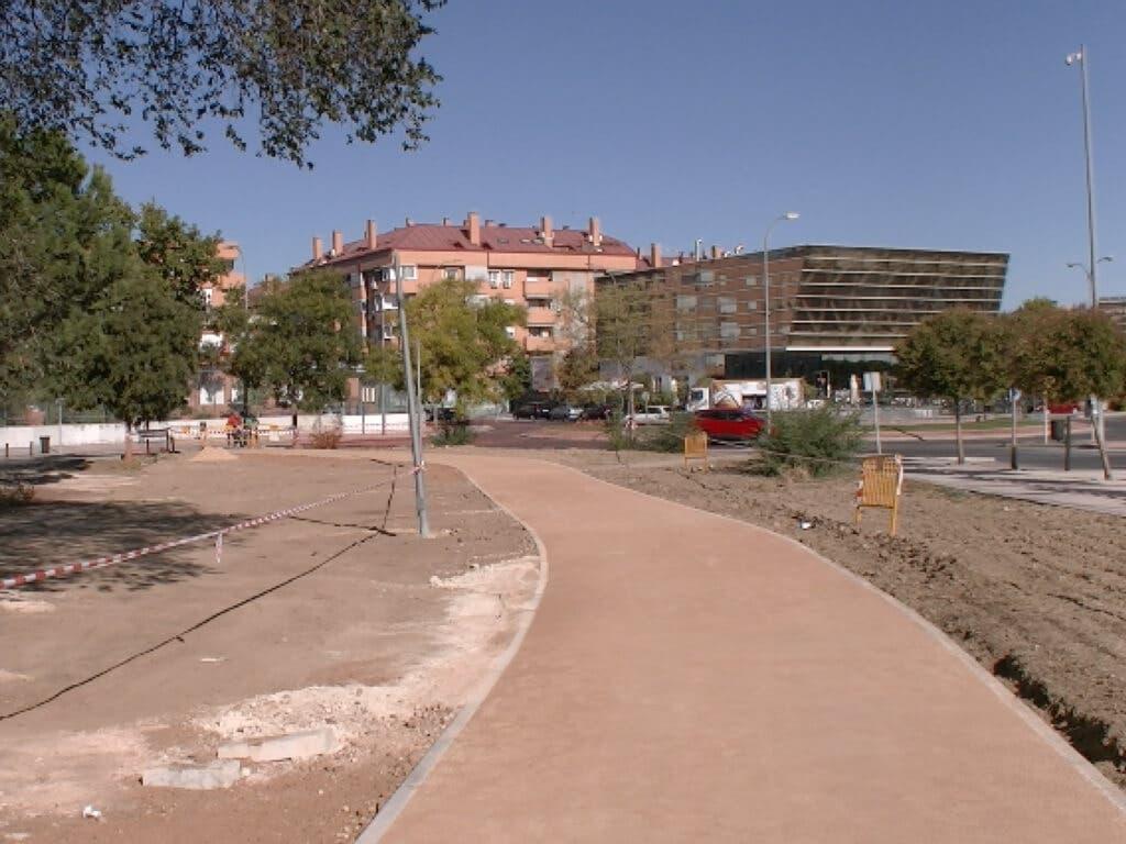 Avanzan las obras del gran Anillo Ciclista de Torrejón