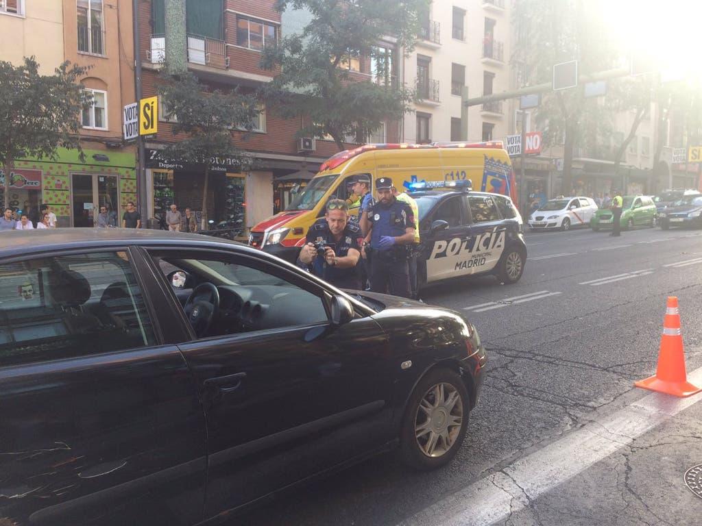 Herida muy grave una anciana tras ser atropellada en Madrid