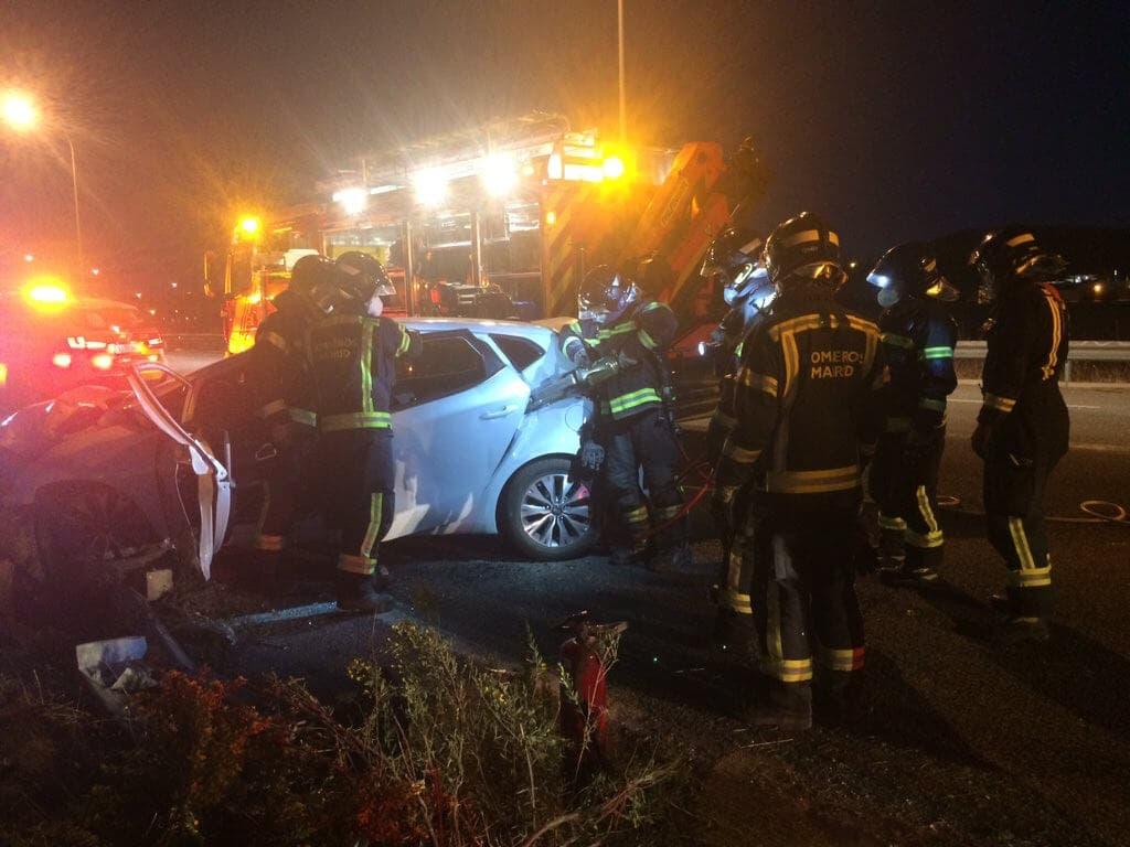 Muere una joven de 24 años en un accidente en Los Berrocales