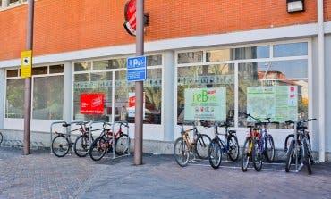 Nuevos bicicleteros en la Estación de Cercanías de Torrejón