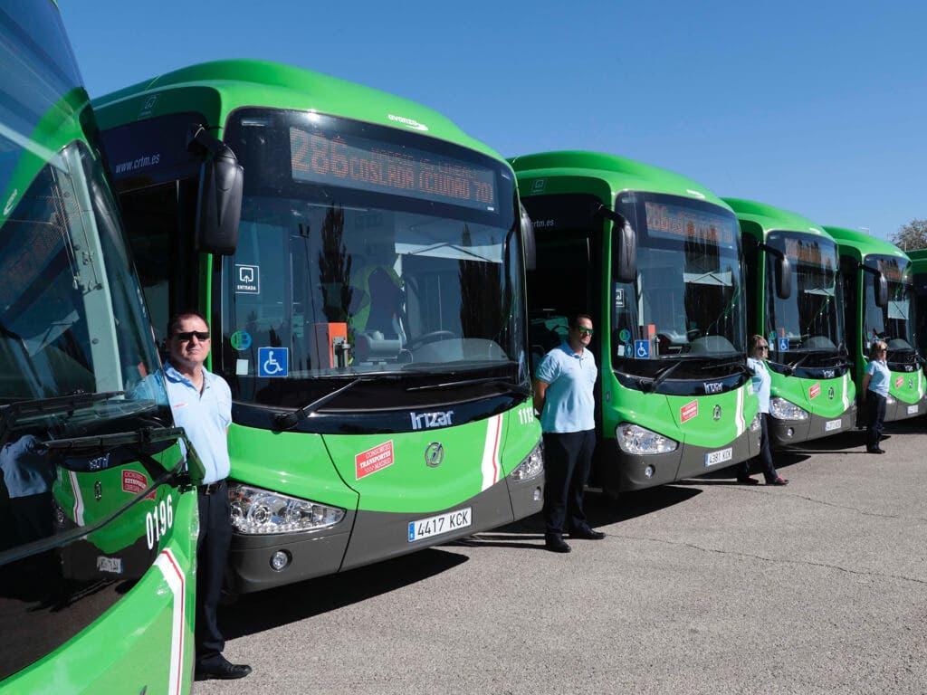 Los autobuses que unen Coslada y Madrid estrenan sistema antifraude