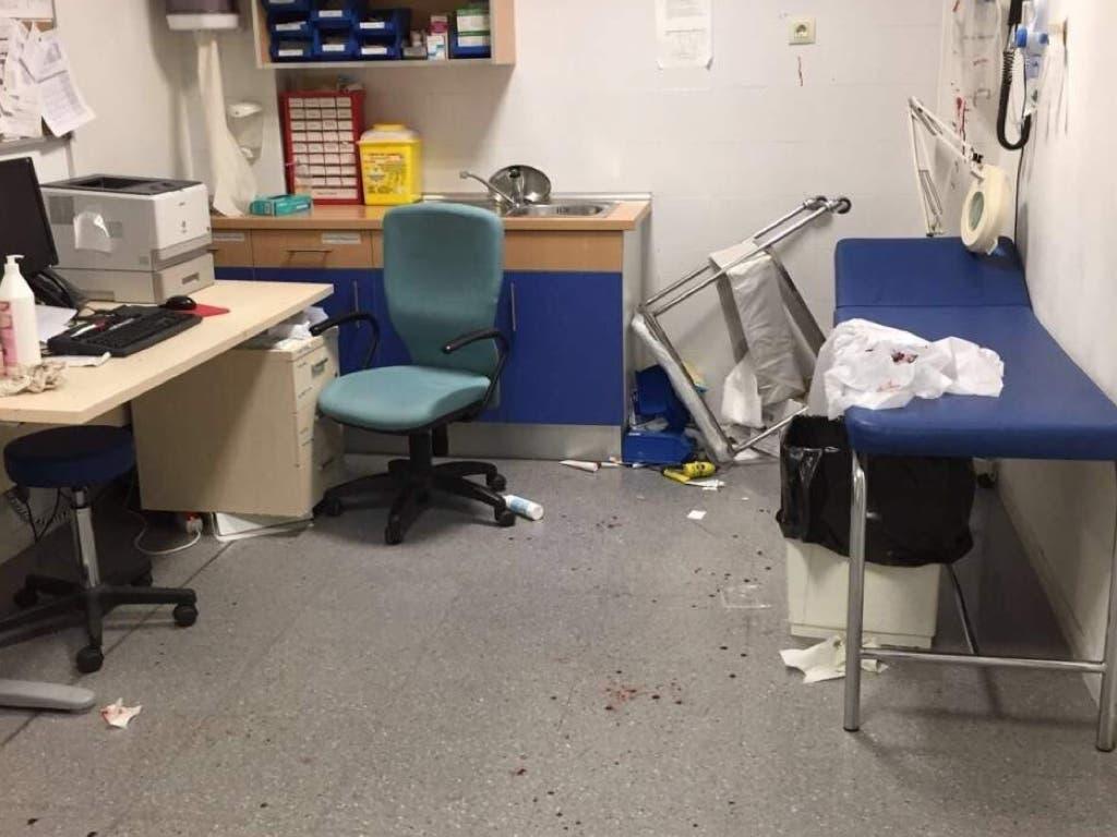 Piden 7 años de cárcel para el agresor de dos médicos y dos enfermeras en El Casar