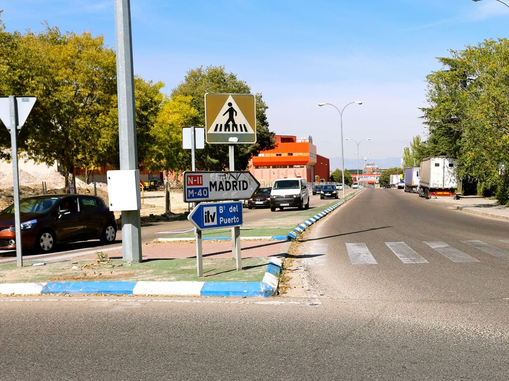 El lunes abren los dos carriles de entrada de la calle Rioja de Coslada