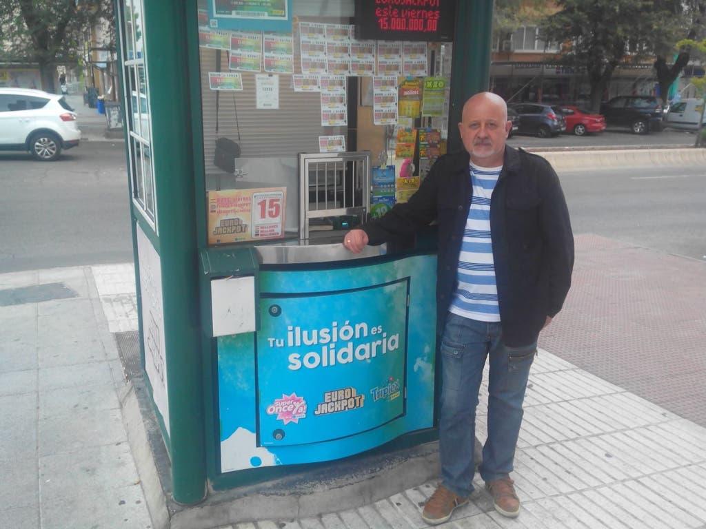 El vendedor de la ONCE que ha repartido 100.000 euros en San Fernando