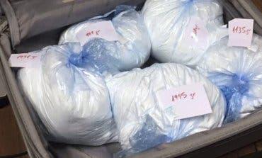No era cocaína lo que llevaban en el coche dos detenidos en la Gran Vía