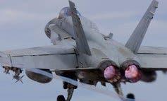 Así es el F-18 estrellado en la Base de Torrejón
