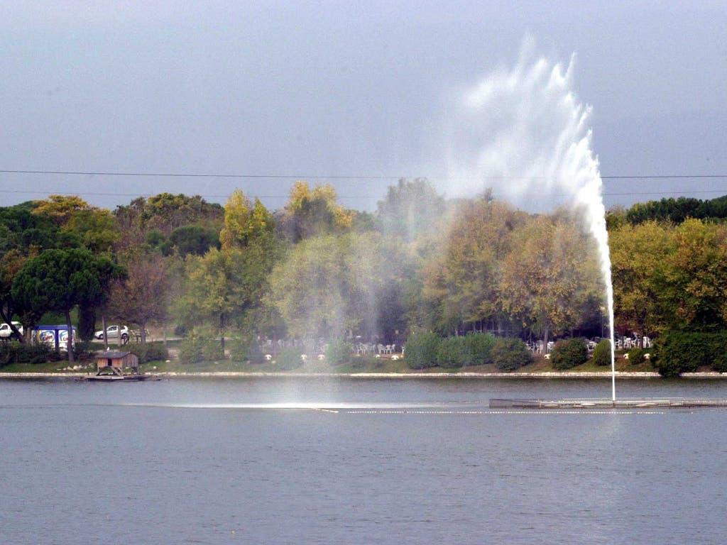 Madrid creará una zona de playa en el lago de la Casa de Campo