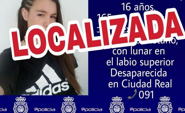 Localizada en Madrid una menor desaparecida en Ciudad Real