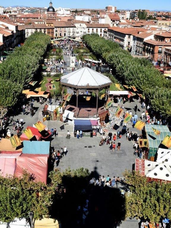 EN DIRECTO: El Mercado Cervantino de Alcalá de Henares