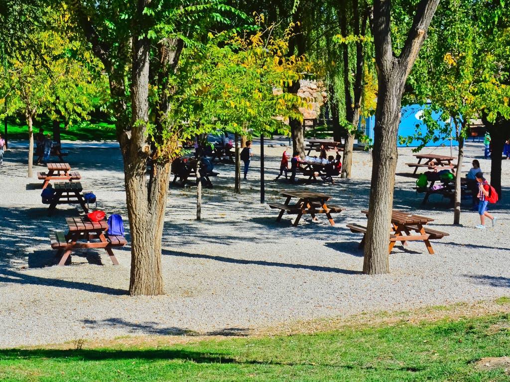 Torrejón amplía el merendero del Parque Europa