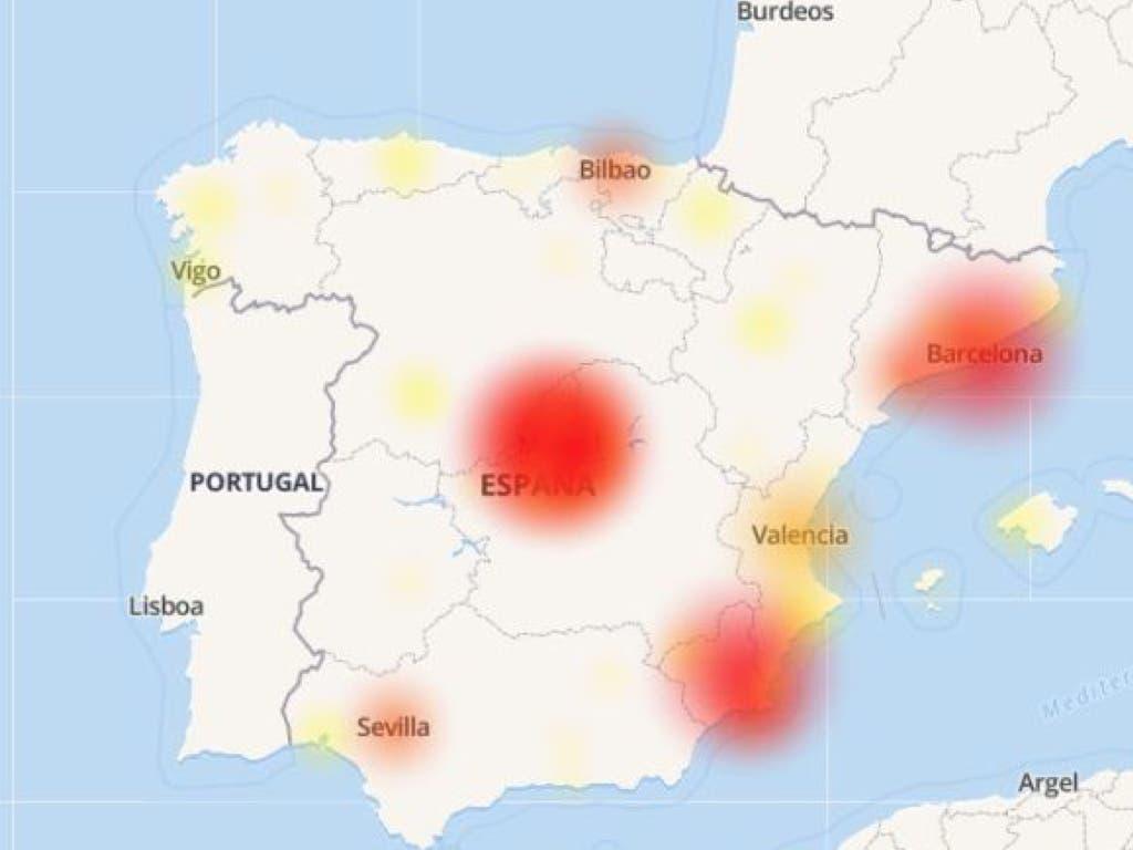 Movistar deja sin Internet a miles de clientes en toda España